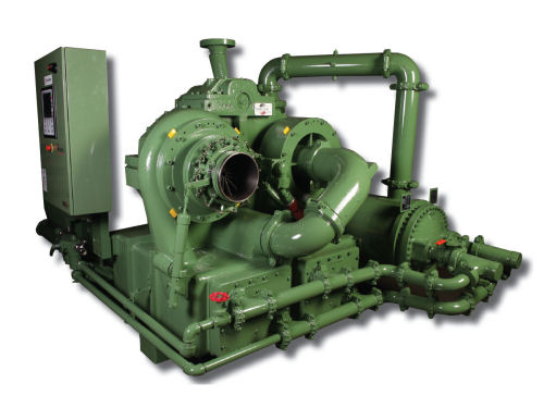Olievrije turbocompressoren